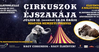 Ma rendezik országszerte a Cirkuszok Éjszakáját