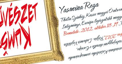 Művészet Yasmin Rezától Kassán - Francia évadot tartanak
