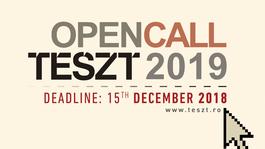 Pályázat – A TESZT szervezői előadások jelentkezését várják