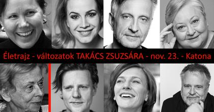 A budapesti Katonában köszöntik a 80 éves Takács Zsuzsát