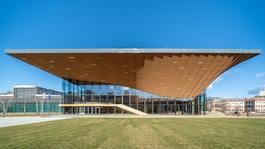Ma nyílik meg a Nemzeti Táncszínház új épülete a Millenáris Parkban
