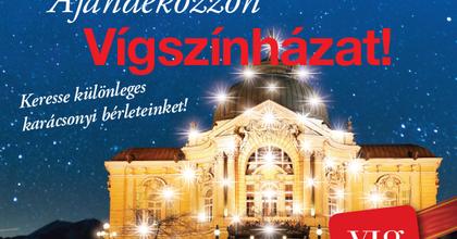 Karácsonyi vásárt rendez a Vígszínház