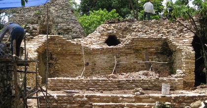 Ősi maja színházat tártak fel Mexikóban