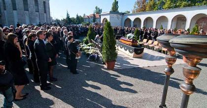 Eltemették Huszár Zsoltot