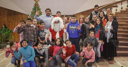 Adományokkal osztották meg a karácsony örömét Marosvásárhelyen