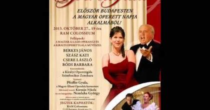 Idén Budapesten tartják a Királyi Operettgálát