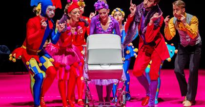 Bozsik Yvette Csipkerózsikáját mutatta be a Pécsi Balett a Pécsi Nemzeti Színházban