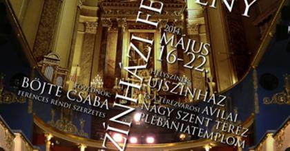 Keresztény Színházi Fesztivált szervez az Újszínház