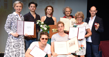 Társulati díjakat osztottak ki a Vígszínházban