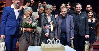 Két hét alatt két jubileum - Ünnepelt az Operettszínház