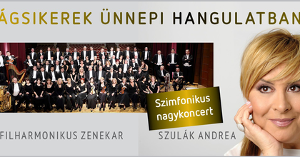 Ünnepi koncerttel zárja az évet Szulák Andrea