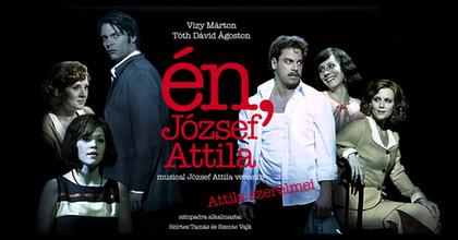 Újra műsoron az Én, József Attila - Czeizel Endre és Csonka András a Madách TV-ben