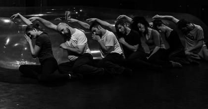 Frenák Pál az M Stúdióban koreografál