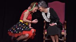 A nap fotója – Bencze Ilona játssza Zita királynét a Turay Ida Színházban
