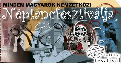 Kezdődik a XX. Minden Magyarok Nemzetközi Néptáncfesztiválja Gyulán