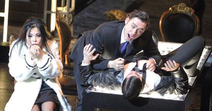 Sokkoló Borisz Godunov a müncheni operában