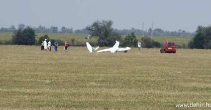 Lezuhant repülőgépével egy debreceni színész