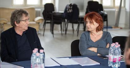 Hernádi Judit és Kern András jutalomjátéka a Belvárosi Színházban