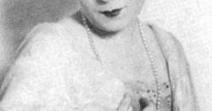 125 éve született Vidor Ferike kabaré-színésznő