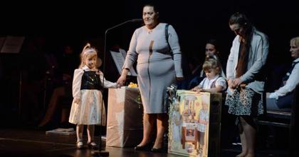 Jótékonysági koncert a Petőfi Színházban