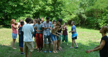 EXCEPT - Négy ország fiataljainak közös előadása Budapesten