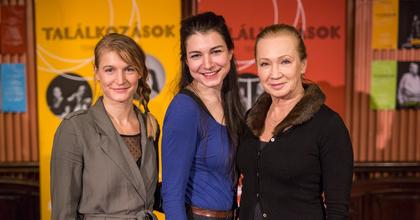 Találkozások – Udvaros Dorottya a Bethlen Téri Színház színpadán