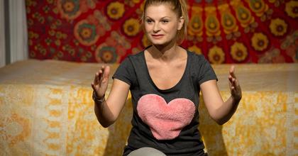 """Ullmann Mónika: """"Egyedül állsz a színpadon, nem tudsz elbújni"""""""