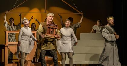 Hogyan született az Olimpia? – Fábri Péter színdarabja a Kolibri Színházban