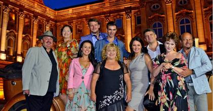 Az Operettszínház Palotakoncertje is látható lesz a TV-ben