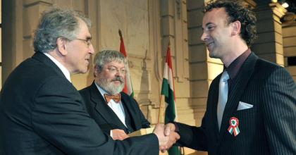 Nádasdy Kálmán-díjat kapott Somogyi Szilárd