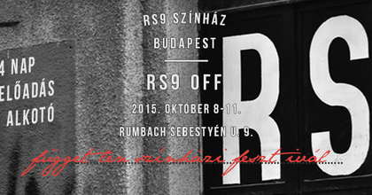 Független színházi fesztivált rendez az RS9