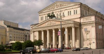 Humoros évadnyitót tartott a moszkvai Nagyszínház