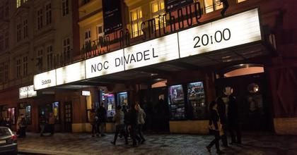Harmadszor rendezték meg a Színházak éjszakáját Csehországban