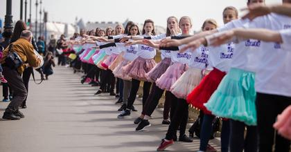 Elkezdhetünk gyakorolni a tánc világnapjára - Flashmob a Margit hídon