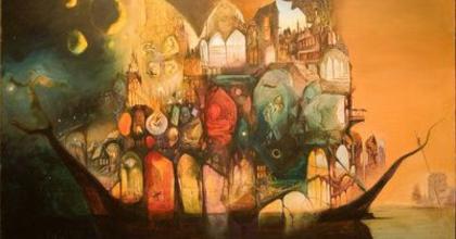 Galamb festményei