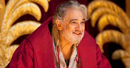 Plácido Domingo Simon Boccanegra szerepében az Erkel színpadán