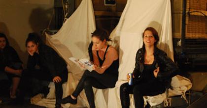 Kaposvári hallgatók k2 Színháza Budapesten - Fesztivált tartanak