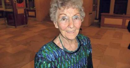100 éves az ország legidősebb színésznője
