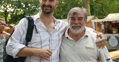 Zenés beszélgetés Zöld Csabával és Vikidál Gyulával a Benczúrban
