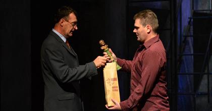 Mózes Anita és Fejszés Attila kapta a Kisfaludy-díjat
