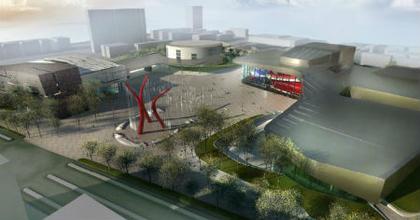 Magyar tervek alapján épül egy kulturális komplexum Kínában