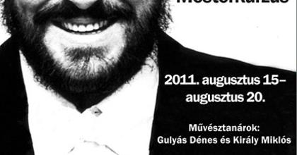 Pavarotti Emlék Mesterkurzus
