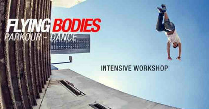 Flying Bodies - Workshop-bemutató a Jurányiban