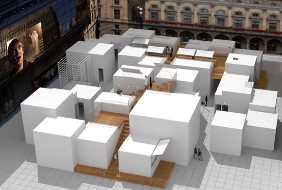 Intersection Architecture | Oren Sagiv, Intersection project installation | Image: Studio Oren Sagiv