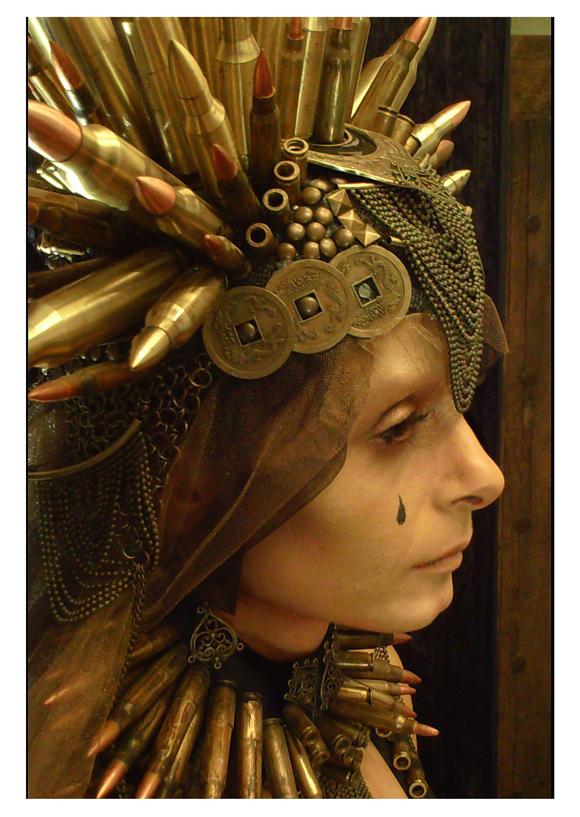 PQ Extreme Costume | Eloise Kazan, Queen Tamora Theater de la Paz, San Luis, Mexico