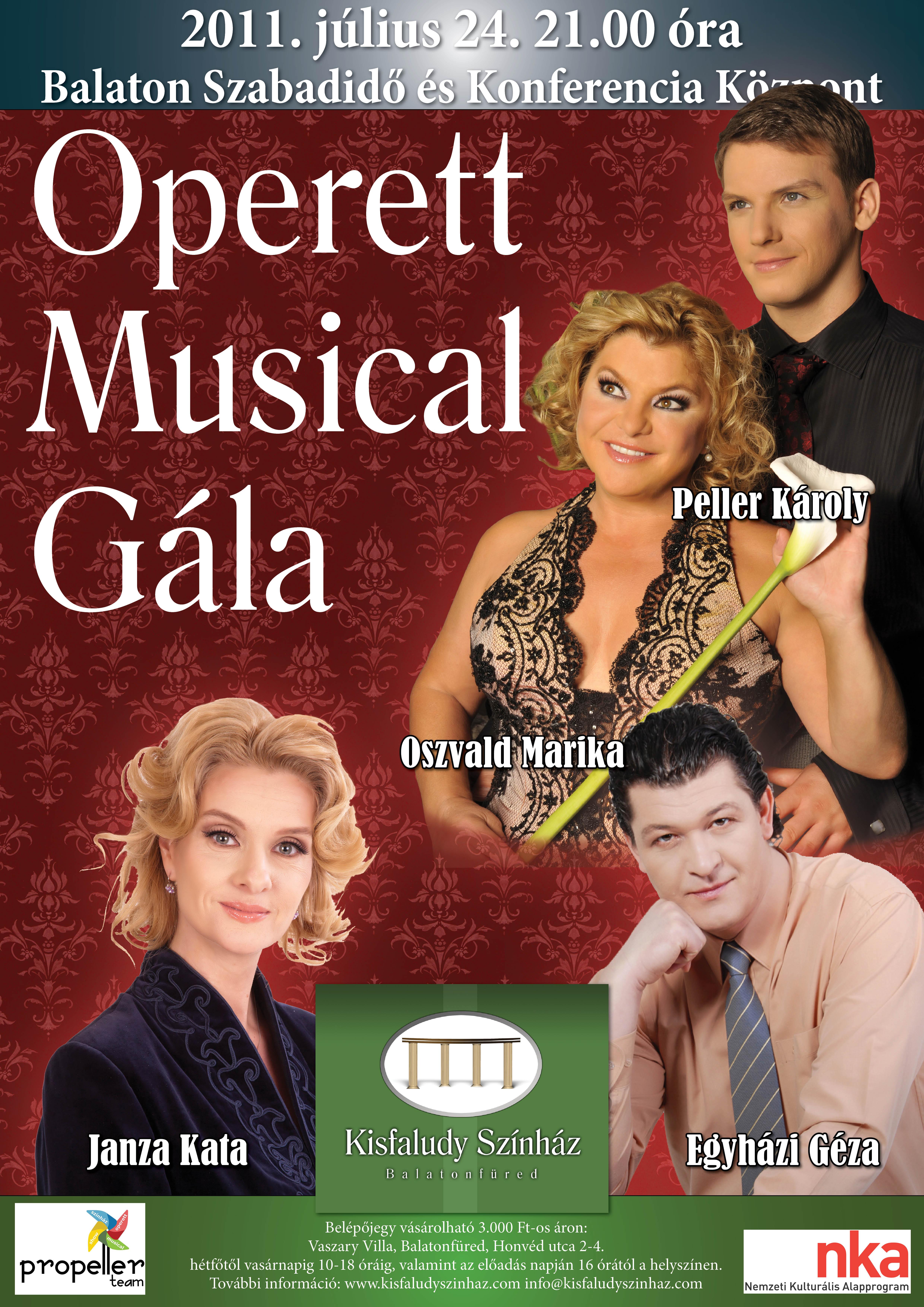 operett-musicaplakat