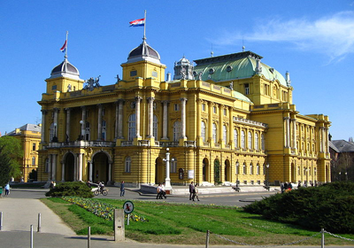 Zagreb_Croatian_National_Theater