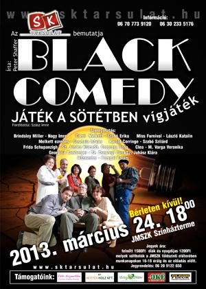 black comedy plakat