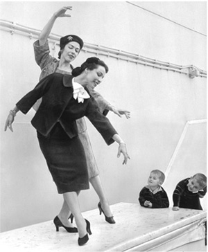 Marjorie and Maria Tallchief