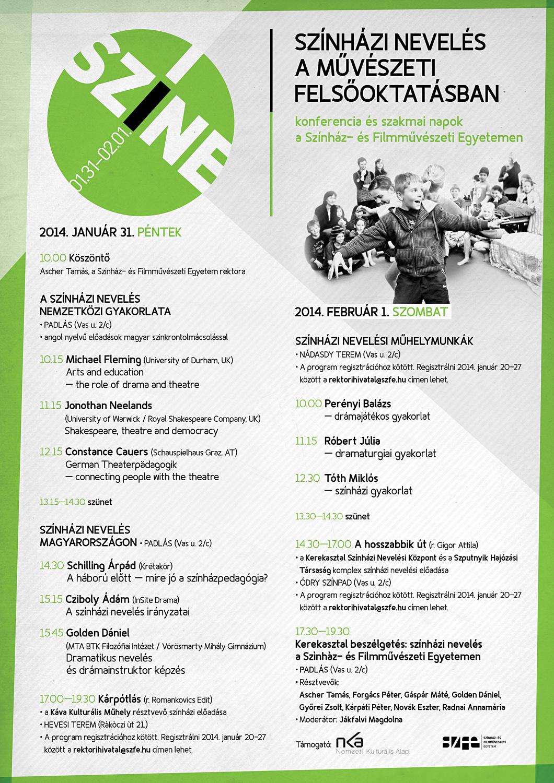 SZINE 2014 program